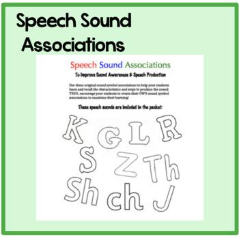 Speech Sound Assoiciations