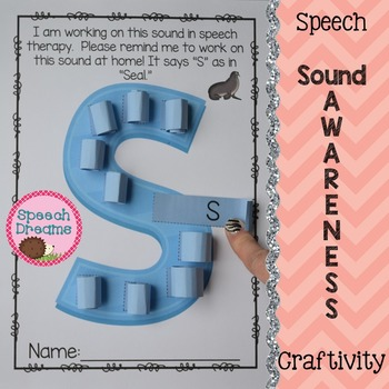 Speech Therapy Sound Awareness Craft {all sounds year 'round}