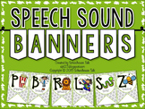 Speech Sound Banners {FREE}