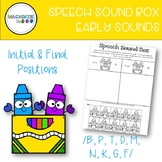 Speech Sound Box for Early Sounds