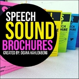 Speech Sound Brochures