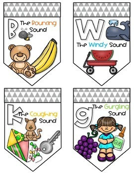 Speech Sound Visual Cue Bunting