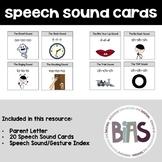 Speech Sound Cue Cards