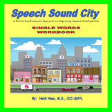 CVCV, CV, VC, CVC Early Developing Sounds Workbook-Speech