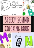 Speech Sound Coloring Book (ever-growing)