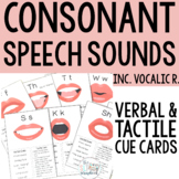 Speech Sound Cue Cards for Articulation- Speech and Language Therapy