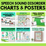 Speech Sound Disorder GROWING BUNDLE Charts & Posters