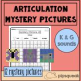 Speech Sound Mystery Pictures: K & G