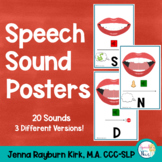 Speech Sound Posters: Articulation Posters
