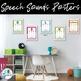 Speech Sound Posters {Brights}