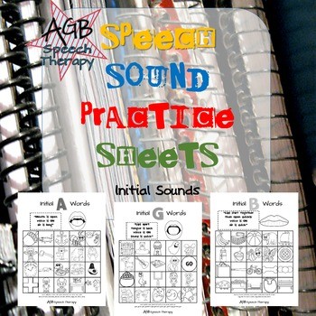 #Jun17SLPMustHave Speech Sound Practice Sheets