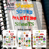 Speech Sound Practice Sheets