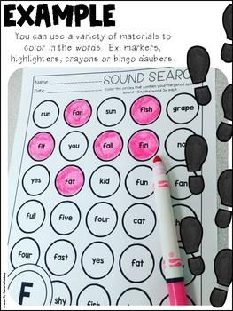 Speech Sound Search