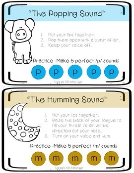 Speech Sound Visual Cue Bundle