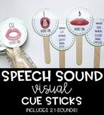 Speech Sound Visual Cue Sticks