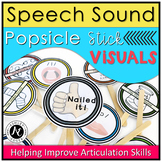 Speech Sound Visual Cue Popsicle Sticks
