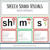 Speech Sound Visuals for Speech Therapy and Phonemic Awareness