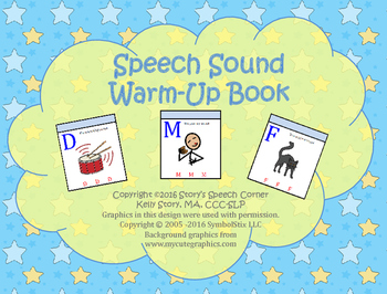 Speech Sound Warm-Up Book
