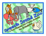 Speech Sound Zoo - A Cut & Paste Articulation Activity