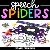 Speech Spiders: /S/ and /S/ Blends