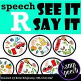 Speech Spot It R Edition: Spot It Game Companion