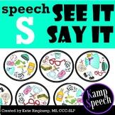 Speech Spot It S Edition: Spot It Game Companion
