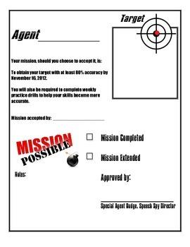 Speech Spy Mission