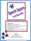 Speech Square: Cut and Paste Activity: Spatial Concepts &
