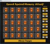 Speech Squirrel Memory Attack!