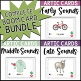 Speech Stacks ALL Sounds Bundle Articulation BOOM Cards