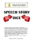Speech Story Dice