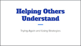"Speech Strategies and Frustration -Social Narrative: ""Helping Others Understand"""