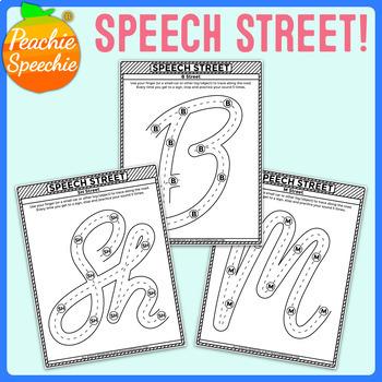 Speech Street: NO PREP Articulation Practice in Isolation