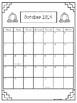 Speech Student Calendar 19/20 School Year