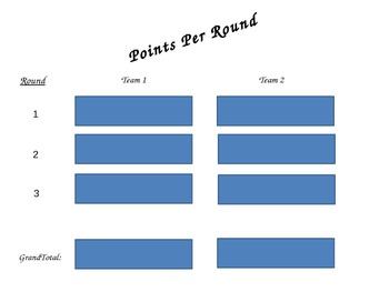 Speech Students Categories Game - Set 2