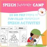 Speech Summer Camp