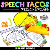 Cinco de Mayo - Speech Tacos: Articulation Craftivity