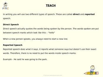 Speech Teaching PowerPoint