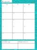 Speech Therapist Planner Calendar