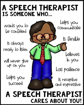 Speech Therapist Poster [Someone Who]