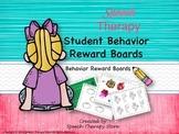 Speech Therapy 10 Months Behavior Reward Boards