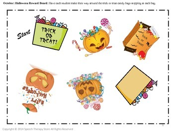 Speech Therapy 10 Months Behavior Reward Boards