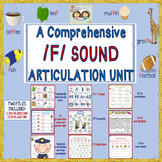 A Comprehensive /F/ Sound Articulation Unit- Sound to Carryover Levels!