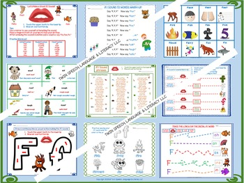 A Comprehensive /F/ Sound Articulation Unit- Sound to Carryover Levels!