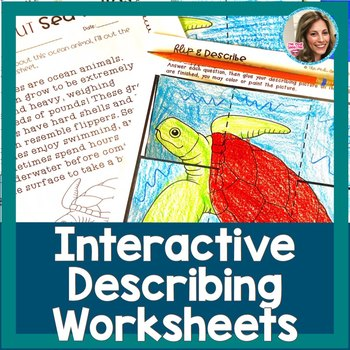 Describing| Describing Worksheets Speech Therapy | Special Education