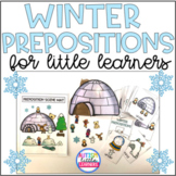 Speech Therapy Activities For Prepositions - Winter