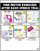 Speech Therapy Activities: Fine Motor Tracers BUNDLE