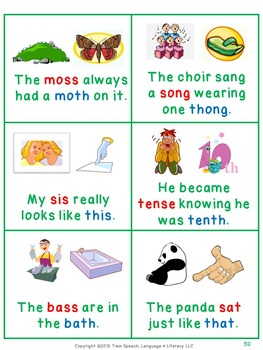 Speech Therapy: Activity Pack For /S/ VS.  /TH/ Minimal Pairs Words