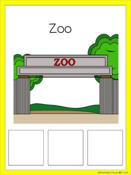 Speech Therapy Animal Sort Categories Categorize Farm Zoo Ocean Pets