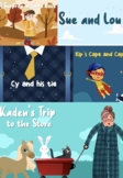 Speech Therapy Animated Stories Bundle